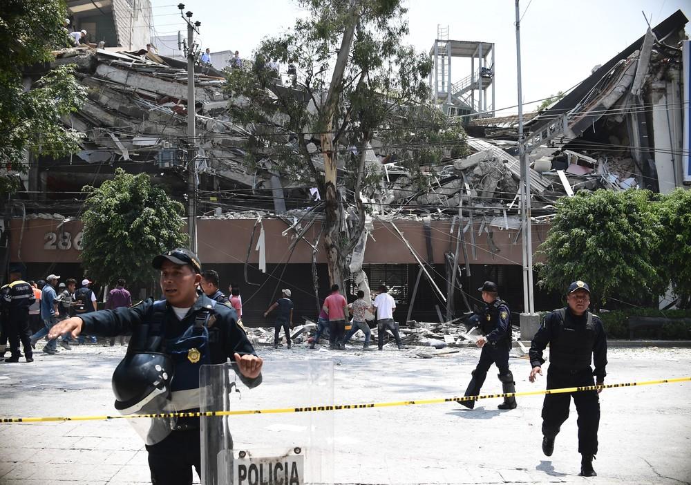 'O teto ficou a dois palmos', diz catarinense que estava em prédio que caiu em terremoto no México