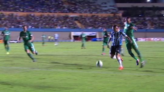 Jogadores do Goiás admitem Grêmio superior e já assimilam possível eliminação