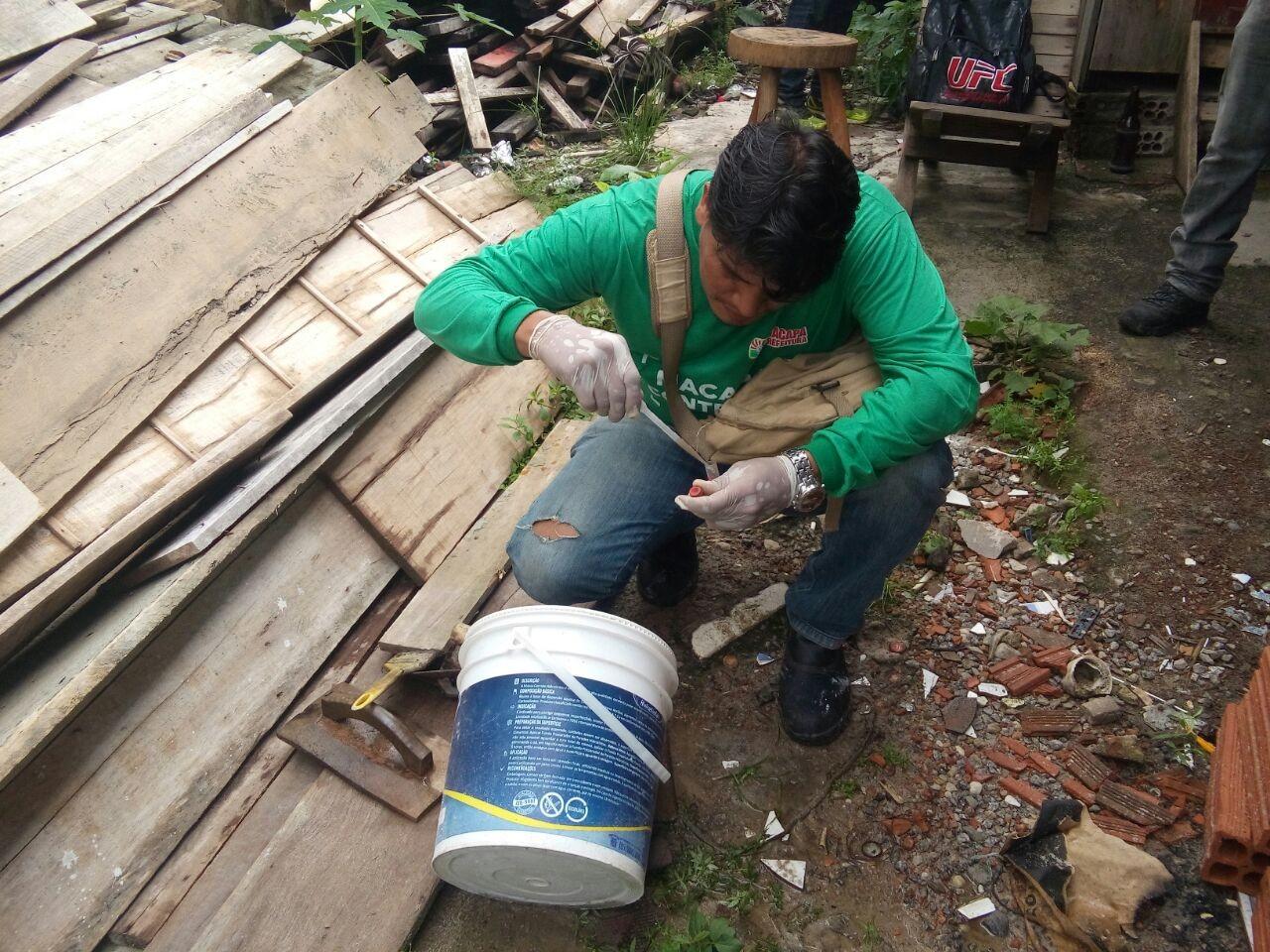 LIRAa de 2019 começa a mapear riscos para a dengue pelo Centro de Macapá