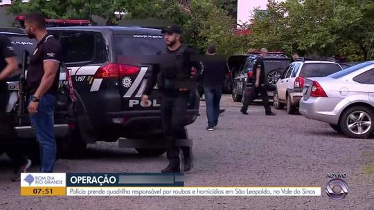 Polícia indicia 96 pessoas por tráfico de drogas, roubos e homicídios em São Leopoldo