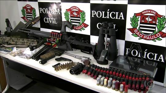 Quadrilha que negociava armas com traficantes do RJ é presa em SP