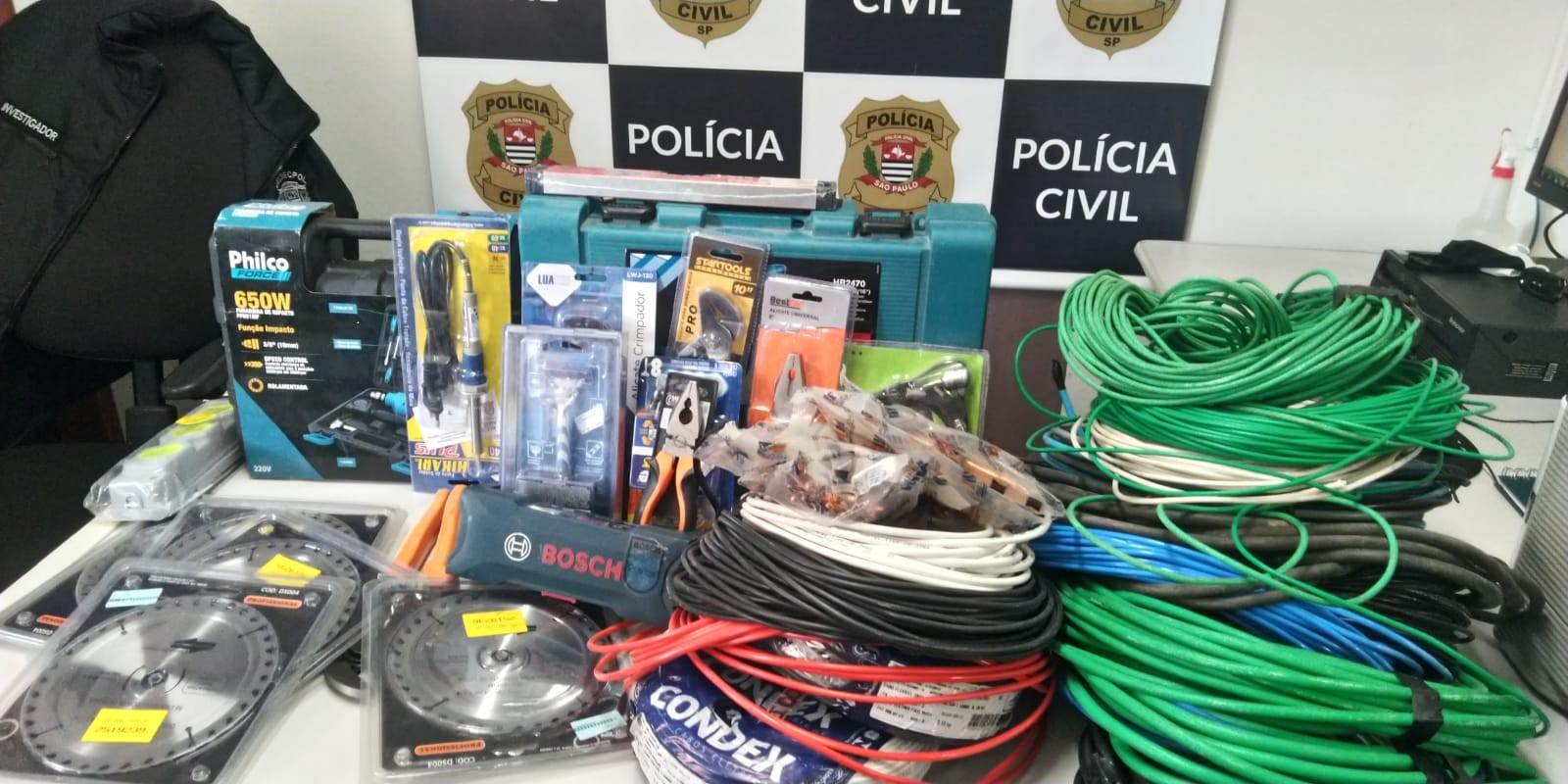 Homem é preso por receptação na comunidade Santa Cruz em São José dos Campos