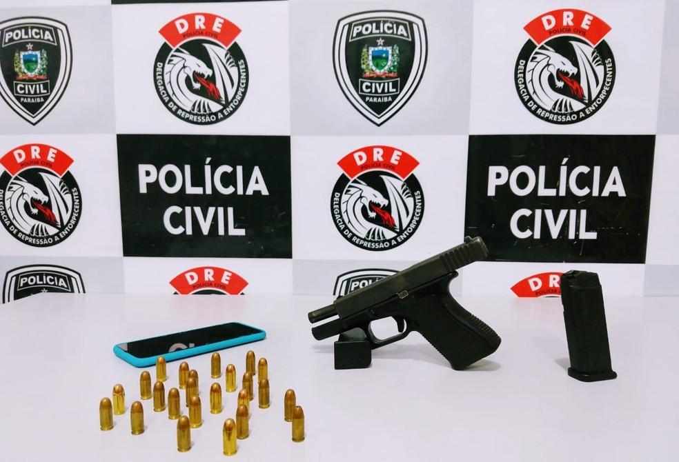 Suspeito de mandar matar pelo menos 10 pessoas na Bahia é preso em Campina Grande — Foto: Polícia Civil/Divulgação