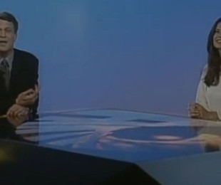 Pedro Bial e Helena Ranaldi também apresentaram o 'Fantástico' | Reprodução da internet