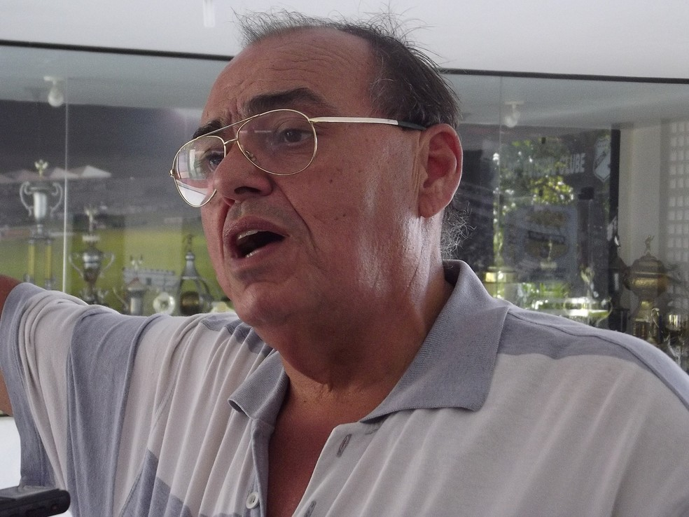 Paulo Tarcísio, atual presidente do ABC (Foto: Klênyo Galvão)