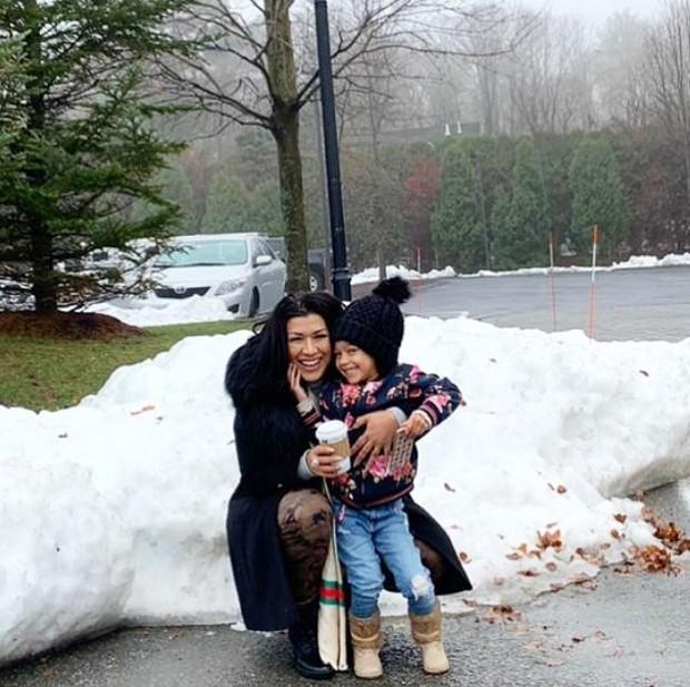 Moranguinho com a filha (Foto: Reprodução/Instagram)