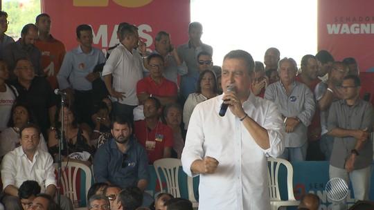 PT confirma Rui Costa como candidato à reeleição para o governo do estado
