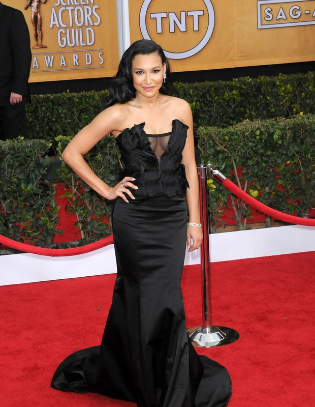 LOS ANGELES, CA - JANUARY 27: Actress Naya Rivera arrives for the 19th Annual Screen Actors Guild Awards - Arrivals held at The Shrine Auditorium on January 27, 2013 in Los Angeles, California.  (Photo by Albert L. Ortega/Getty Images) (Foto: Getty Images)