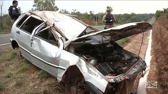 Acidente termina com morte de criança de um ano na BR-230 no Maranhão