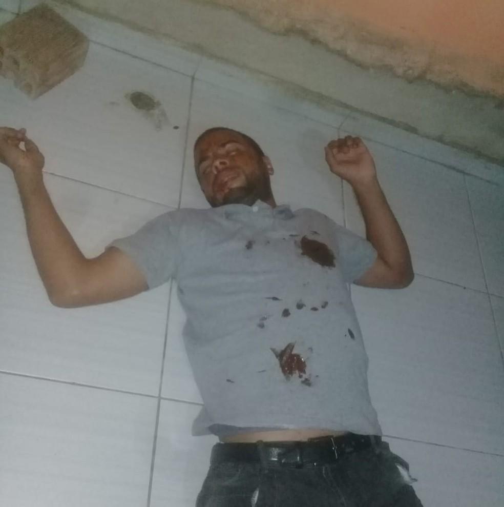 Foragido tentou forjar a própria morte para tentar despistar trabalho da polícia — Foto: Polícia Civil/Divulgação