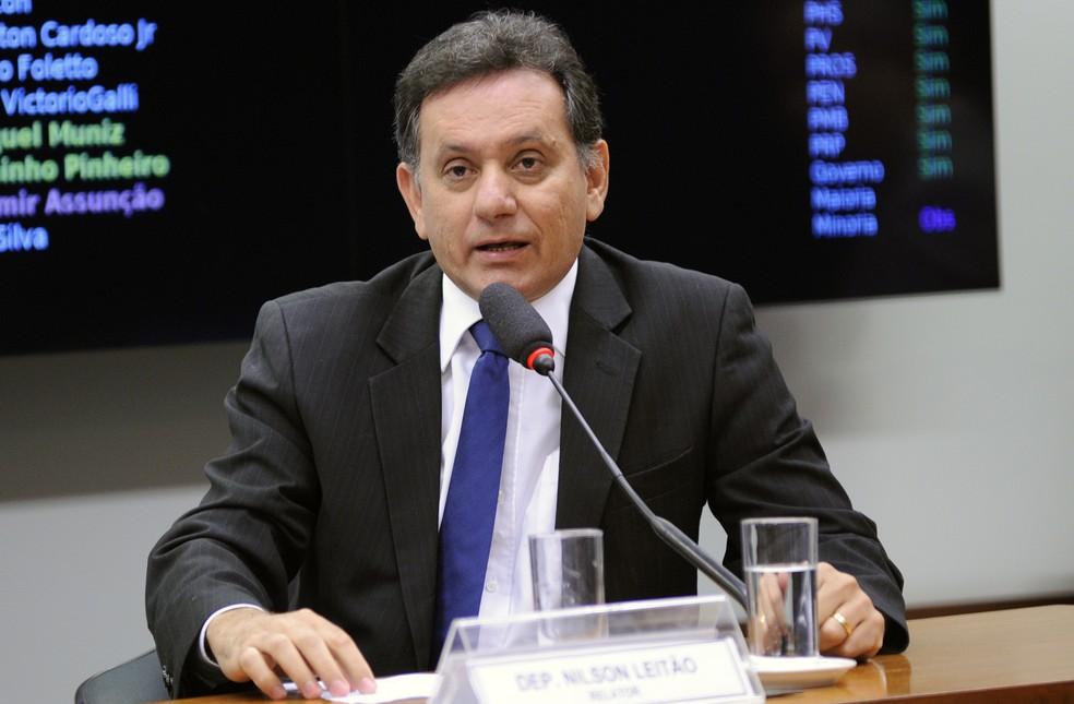 Deputado Nilson Leitão (PSDB) disputava vaga no Senado (Foto: Lúcio Bernardo Junior/Câmara dos Deputados)