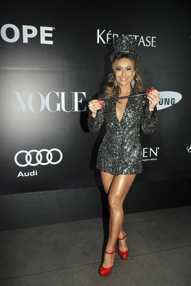 Sabrina Sato, apresentadora de TV, no baile da Vogue 2013, realizado no hotel Unique  -24/01/2013 - S (Foto: João Sal/ Arquivo Vogue)