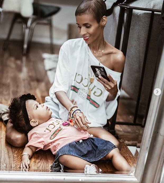 Kyrzayda Rodriguez deixou uma filha (Foto: Reprodução/Instagram)