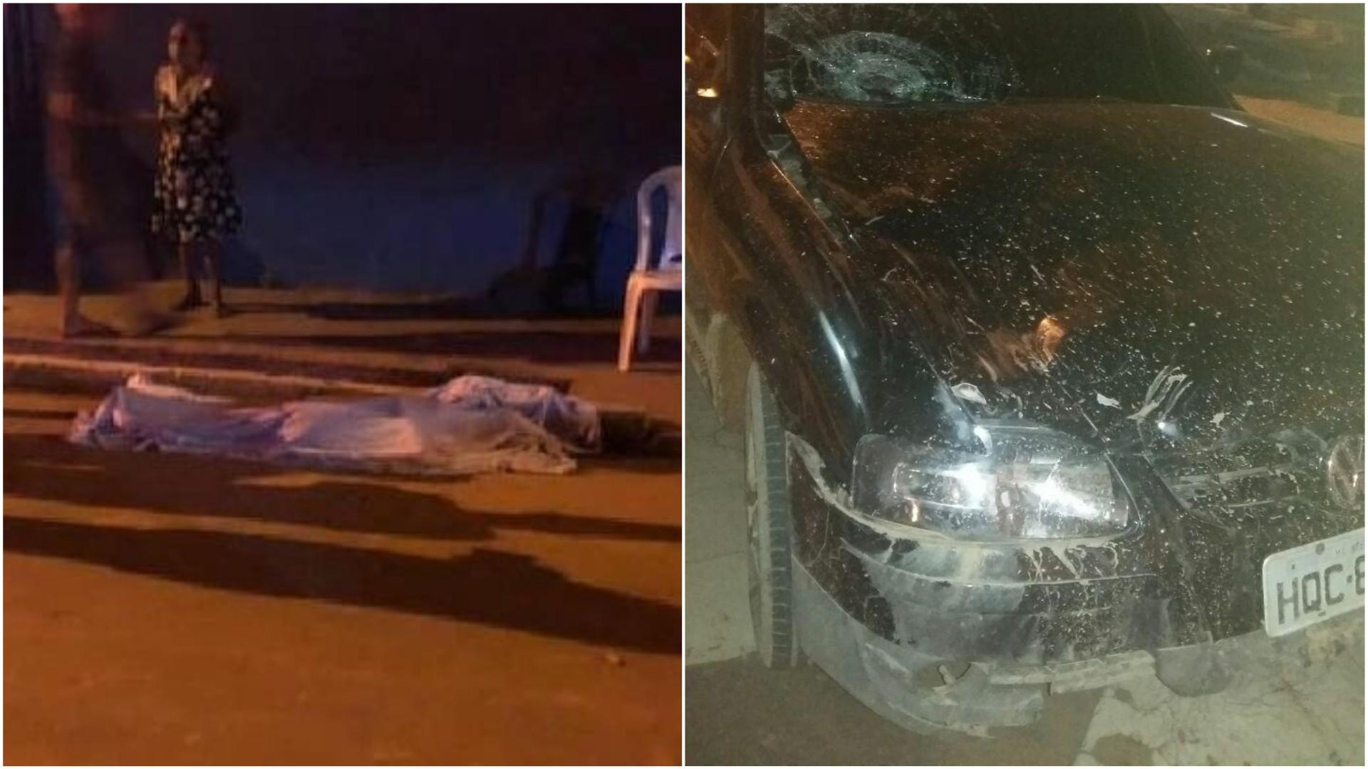 Motorista atropela família na rua e menina de 12 anos morre em Imperatriz