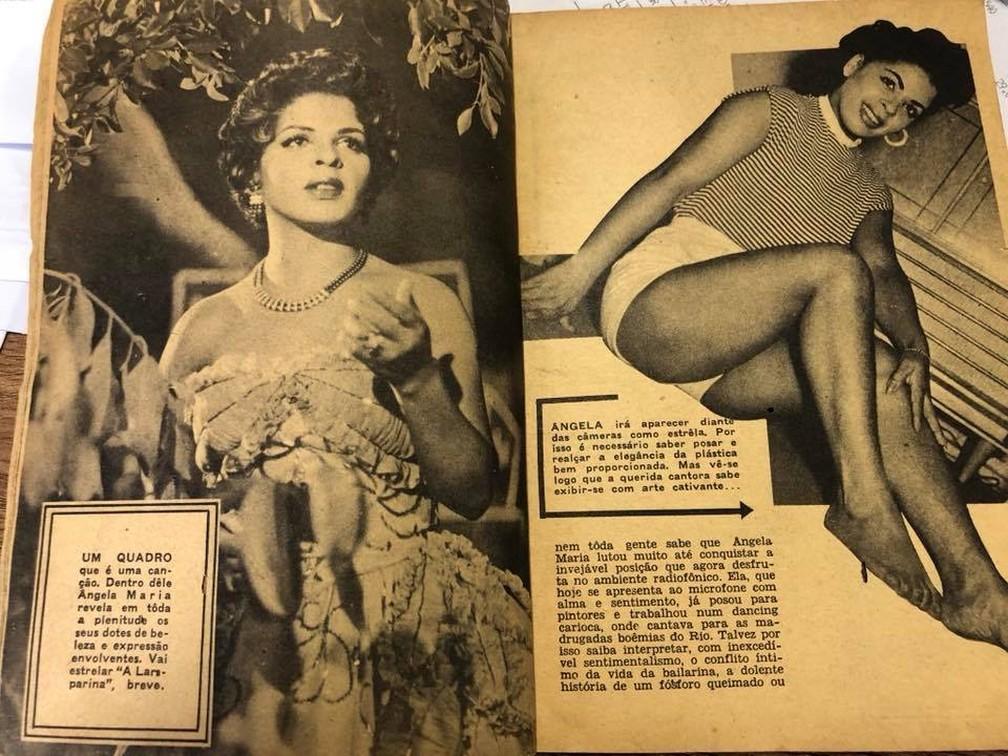 Angela Maria em início de carreira â?? Foto: Reprodução / Facebook