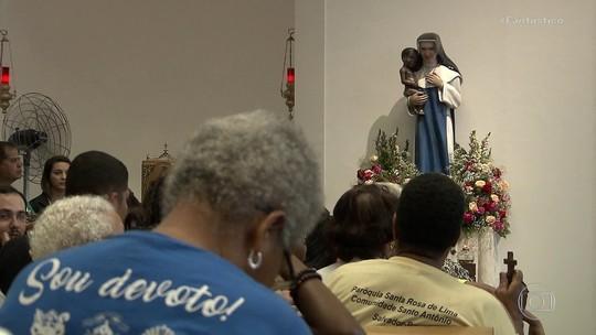 Devotos de Santa Dulce dos Pobres se reúnem em Salvador