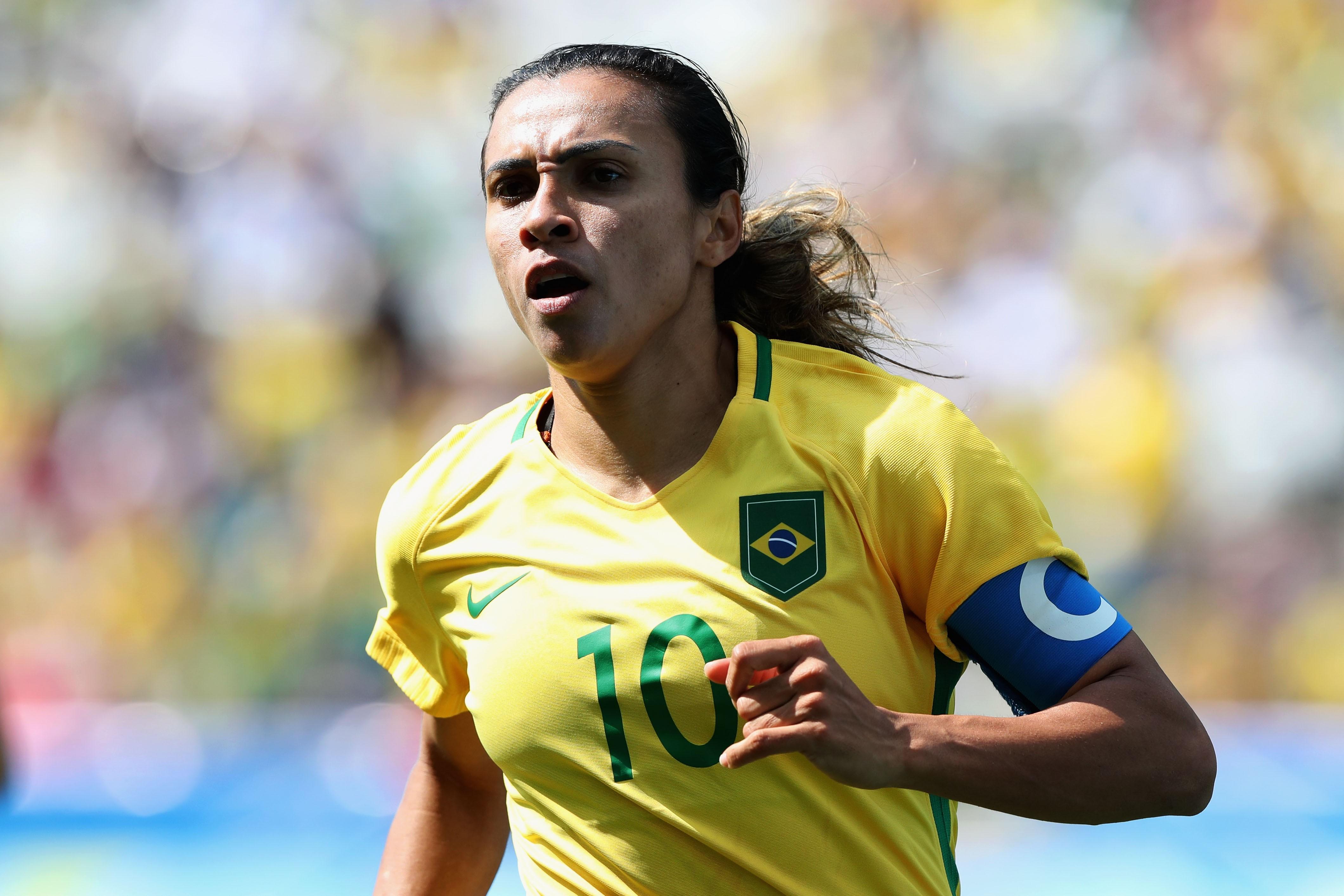 Marta, a maior jogadora de todos os tempos (Foto: Getty Images/Alexandre Schneider)
