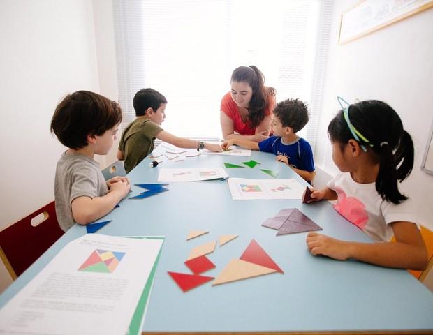 Crianças aprendem juntas a encarar desafios (Foto: Janaina Villela)