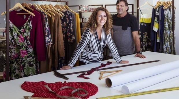 Renato Villarinho e Claudia Richa abriram loja em Amsterdã (Foto: Agência O Globo)
