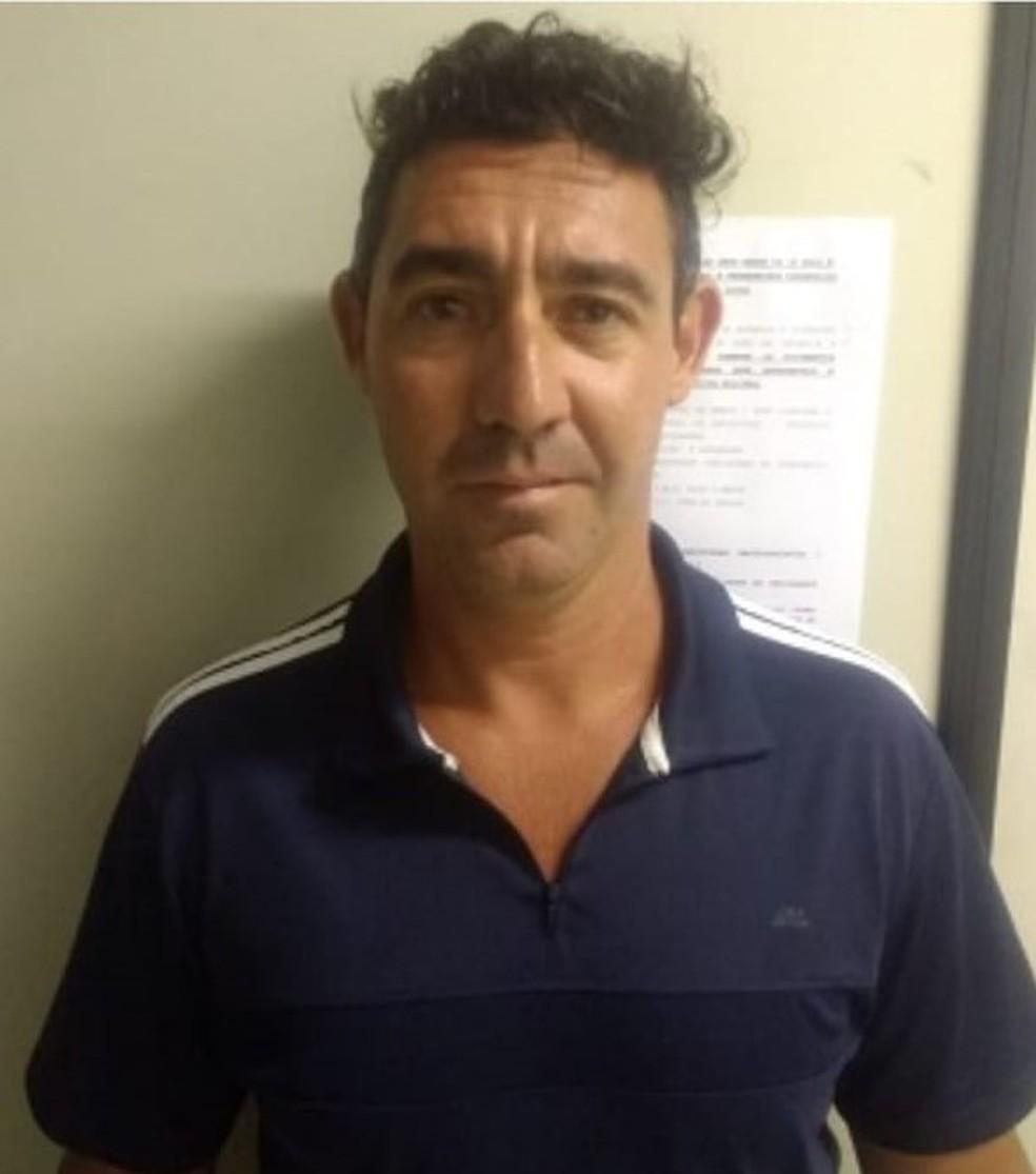 Peterson Ricardo Rafael é suspeito de esfaquear e queimar vivo um empresário de Itapira (SP) — Foto: Polícia Militar/Divulgação