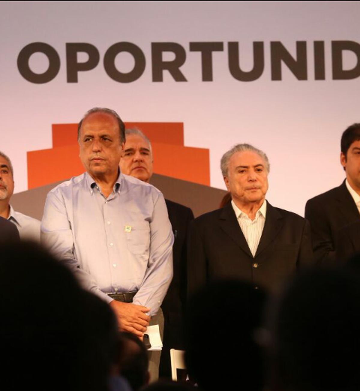 Temer participa de cerimônia para criar Zona de Processamento de Exportação em São João da Barra, no RJ