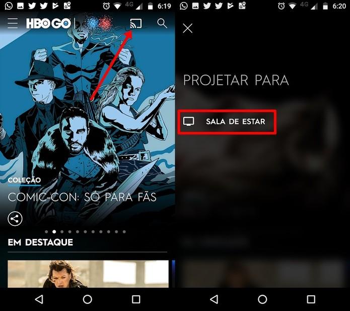 Como assistir à programação da HBO GO pelo seu Chromecast