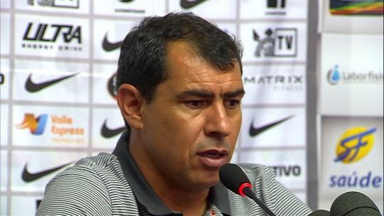 """Carille avalia mudanças no Corinthians e mira jogo com Bragantino: """"Time chato"""""""