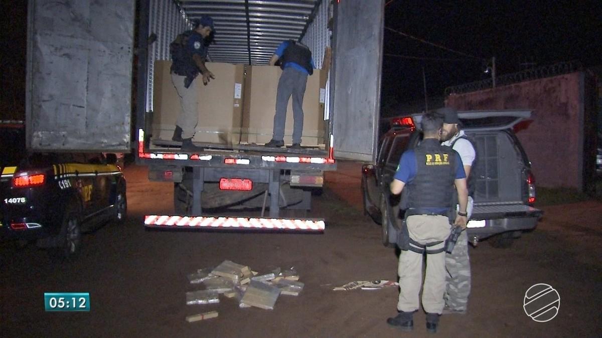 Homem é preso em MS com maconha em carga de material para fabricação de garrafa pet