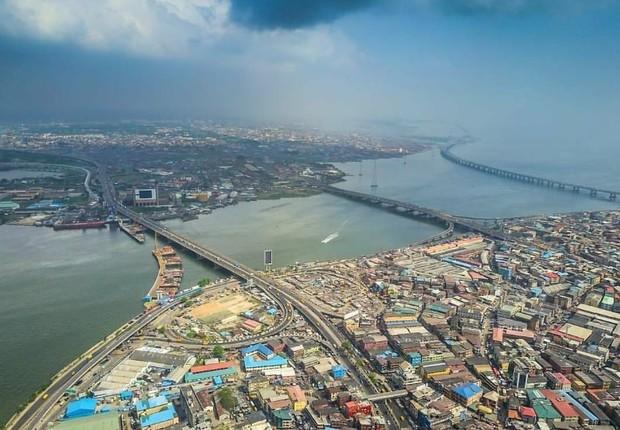 Lagos, Nigéria (Foto: Reprodução/Instagram)