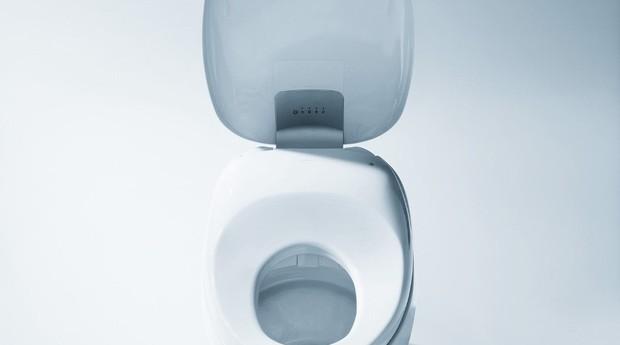 O formato do vaso foi inspirado nas pedras que ficam ovais por conta ta ação da água (Foto: Divulgação)