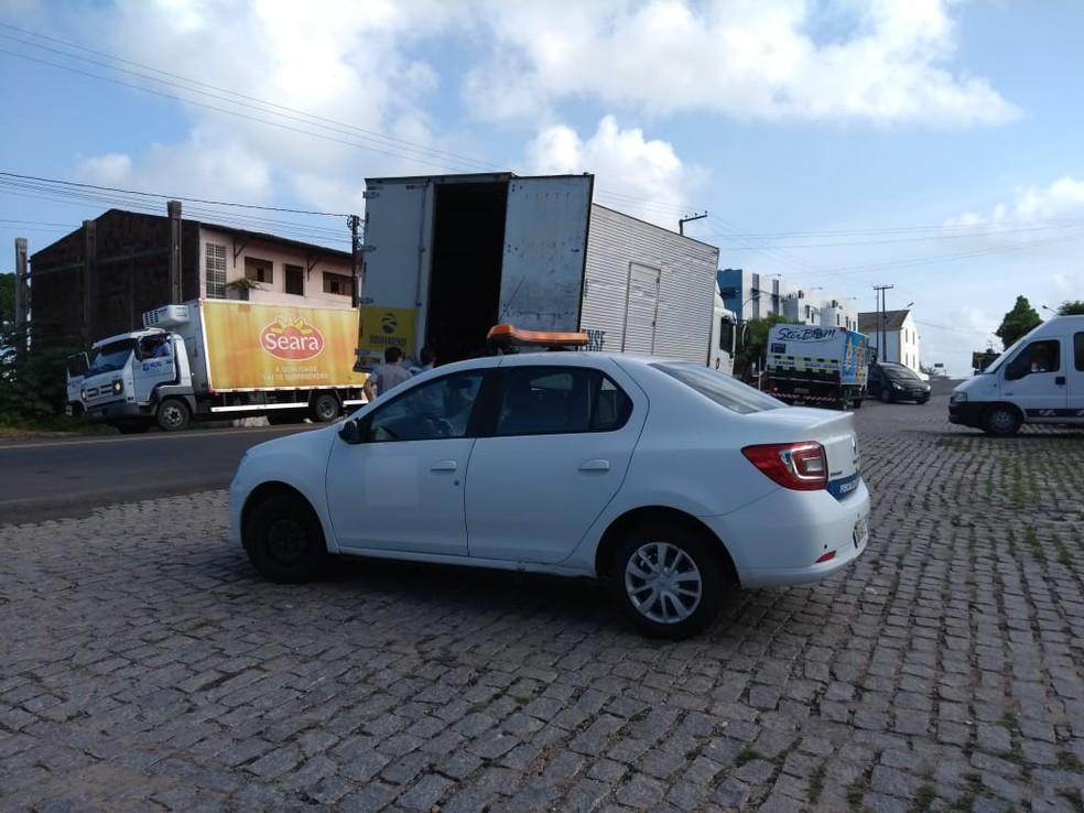 Mais de 1.900 veículos foram fiscalizados durante operação — Foto: Divulgação/SET