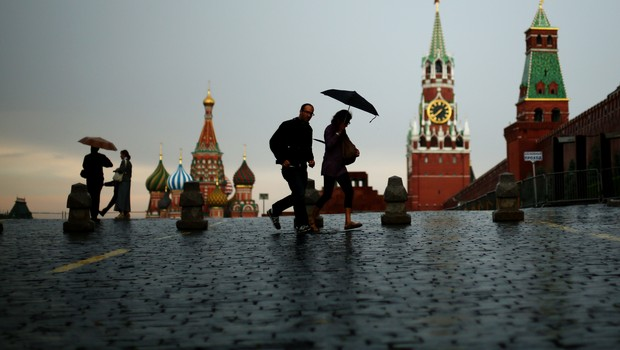 Moscou, capital da Rússia (Foto: Mark Kolbe/Getty Images)