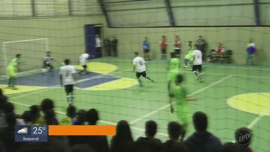 Ipiúna e Campos Gerais vencem na rodada da Taça EPTV de Futsal