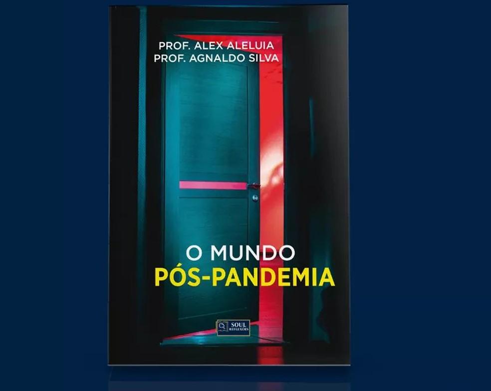 Livro sobre a pandemia foi lançado  — Foto: Divulgação