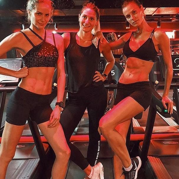 Babi Beluco, Cindy Dias e Renata Kuerten (Foto: Reprodução Instagram)