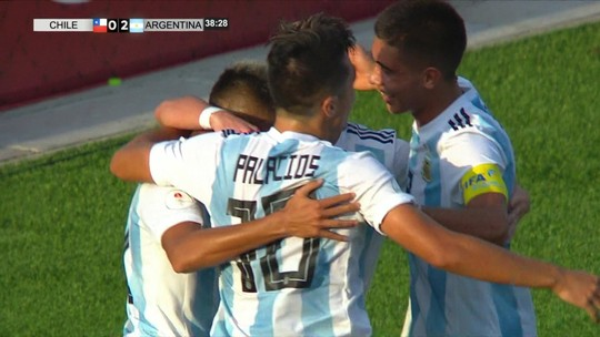 Argentina marca com 16 segundos, vence o Chile e assume liderança do Hexagonal Final