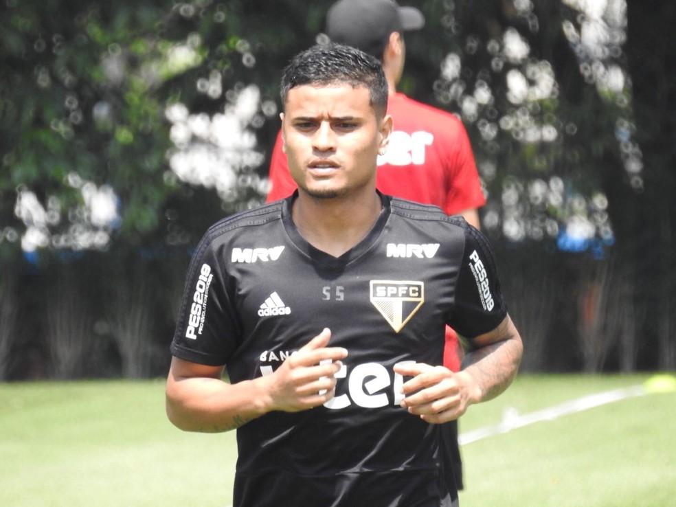 Everton é novamente desfalque no São Paulo — Foto: Marcelo Hazan