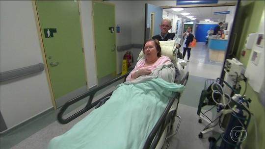 Frio lota hospitais e ministro britânico pede desculpas por falta de leitos