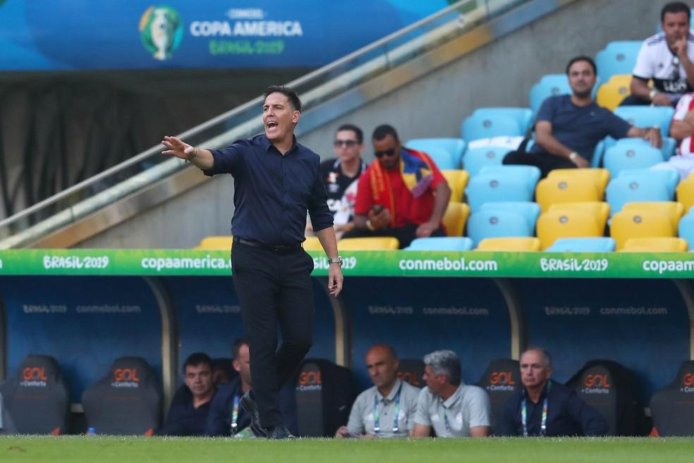 Eduardo Berizzo, técnico da seleção paraguaia â?? Foto: REUTERS/Pilar Olivares