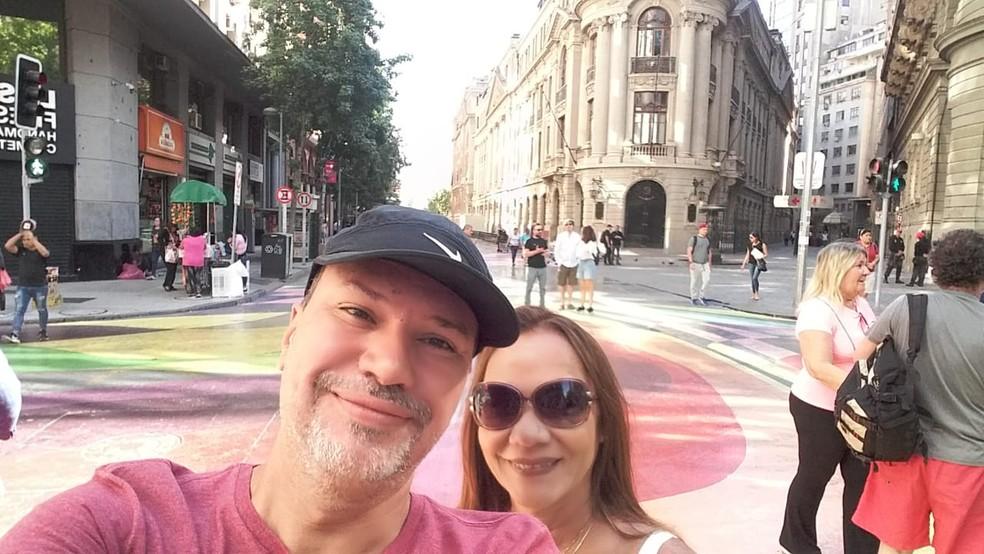 Alexandre e Maria Cristina foram vítimas de atropelamento no último dia 30 — Foto: Imagens cedidas pela família