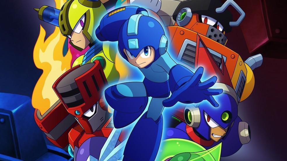 Mega Man 11 é uma das ofertas — Foto: Divulgação/Capcom