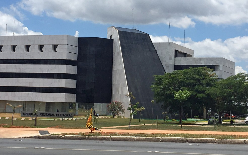 Sede do Tribunal Regional Eleitoral em Brasília — Foto: Gabriel Luiz/G1