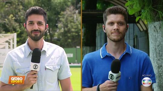Vídeo: Palmeiras e Santos já treinam de olho no clássico do próximo sábado