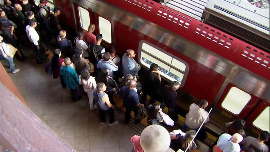 Panes nos trens e metrô de São Paulo crescem 31% entre janeiro e setembro de 2019