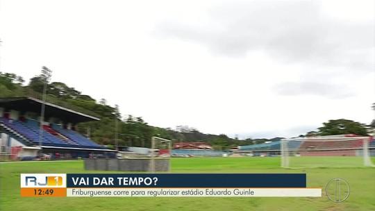 Friburguense corre para regularizar estádio Eduardo Guinle