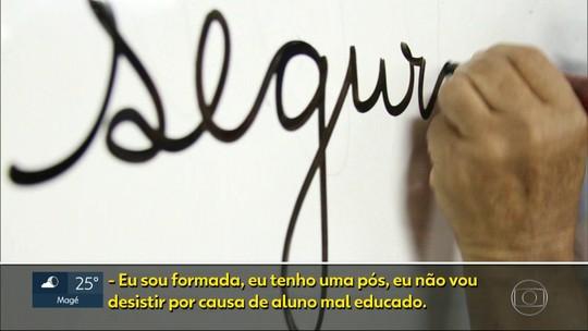 Metade dos professores afastados na rede estadual do RJ pediu licença por problemas psiquiátricos