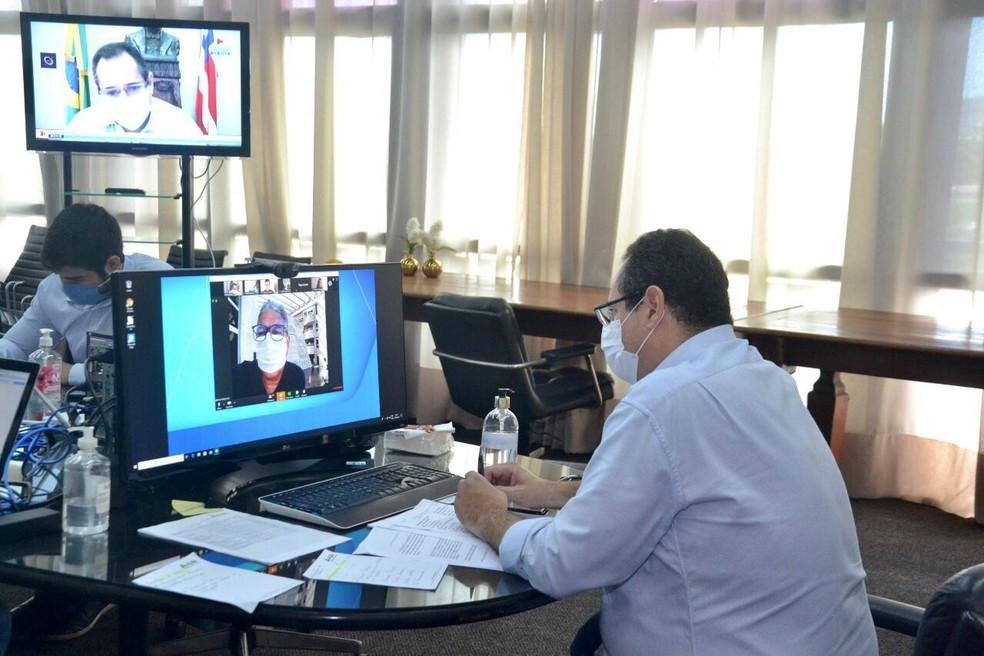 Assembleia Legislativa da Bahia realiza sessão virtual — Foto: Divulgação/Alba