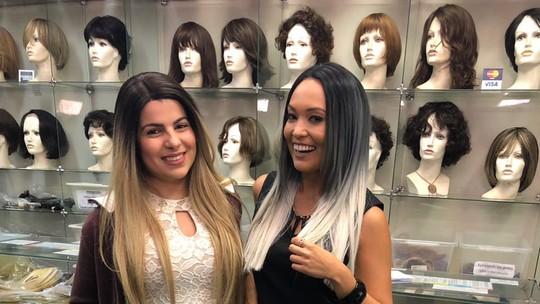 As perucas caíram no gosto das famosas como opção para mudar o visual