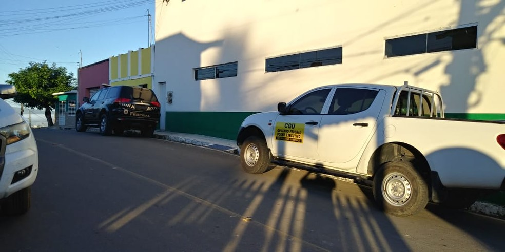 Polícia Federal desencadeia Operação Sufocamento em Alagoas, Rio de Janeiro e Espírito Santo para investigar desvio de recursos no município alagoano de Girau do Ponciano — Foto: Polícia Federal