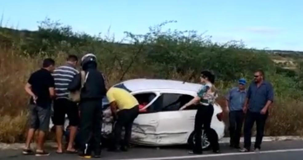 Homem morreu em acidente de carro no interior do Rio Grande do Norte — Foto: Focoelho